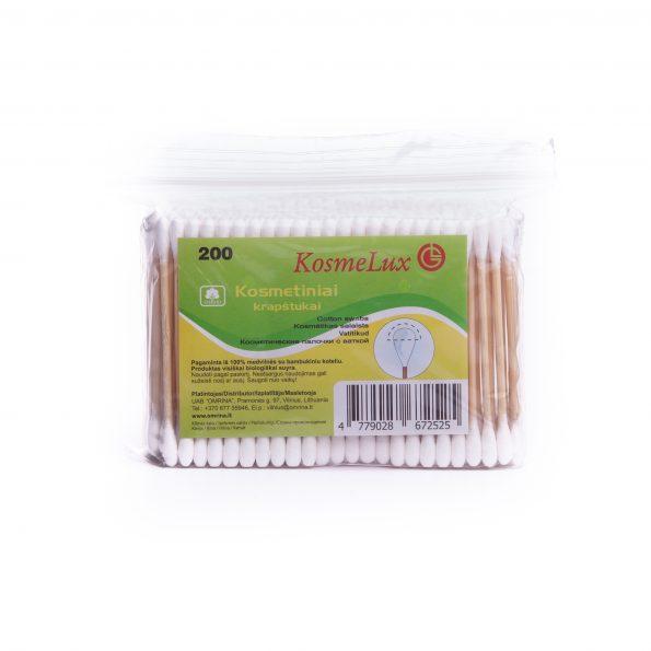 KOSMELUX kosmetiniai kr. 200 B bambukiniu kot. maišelyje